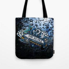 Blues Harp  Tote Bag