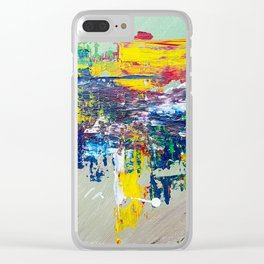 Equestria: Exciting Countryside Abstract Clear iPhone Case
