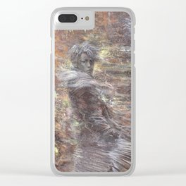 Octoberwinds Clear iPhone Case