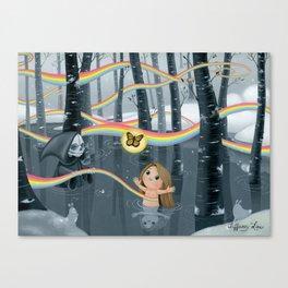 I Follow Rainbows Canvas Print