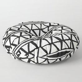 Tribal Geometric Band Floor Pillow