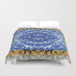 AFGHAN MOUNTAINS MANDALA Duvet Cover