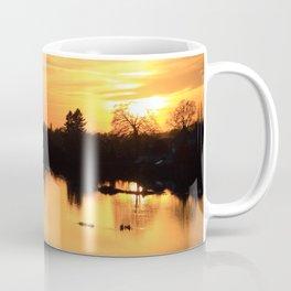 Floodplain at Sunset 3 Coffee Mug