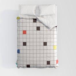 Crossword Puzzle #GraphicDesign #Minimalism Comforters