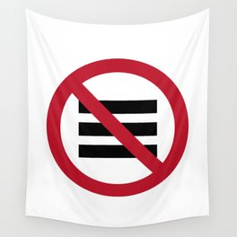 No Hamburger bar Wall Tapestry