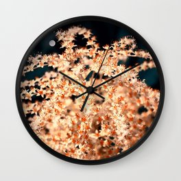 Magic flower Wall Clock