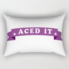 Aced it Rectangular Pillow