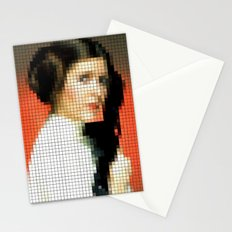 Princess Leia with Blaster Stationery Cards