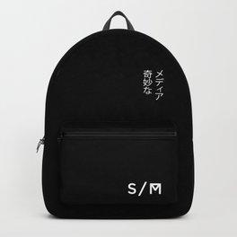 Strange Media - Title Card Backpack