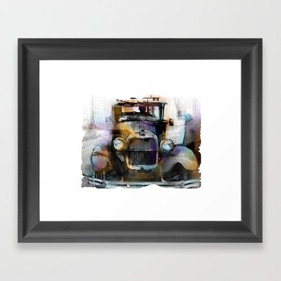 Model T  Framed Art Print