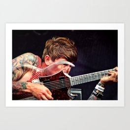 John Dwyer of Thee Oh Sees Art Print