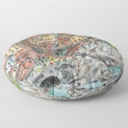 Manarola, Floor Pillow