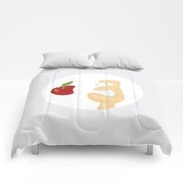iLove Apple Comforters