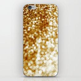 Golden iPhone Skin