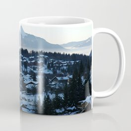 Twilight in the Ski Resort Coffee Mug