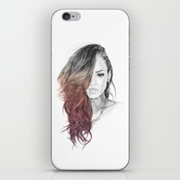rihanna iPhone & iPod Skins featuring Rihanna by Coolrista