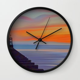 Crosby Pier Wall Clock