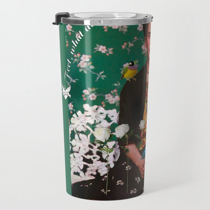 Wings To Fly Frida Travel Mug