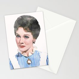 Mary Poppins - Watercolor #1 Stationery Cards