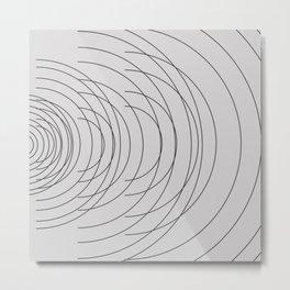 simplicity Metal Print