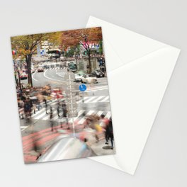 The Bustle of Shibuya, Tokyo Stationery Cards