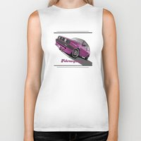 vw Biker Tanks featuring VW  by Valerie Agrusa Photography