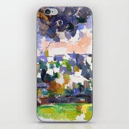 1906 - Paul Cezanne - The Garden at Les Lauves iPhone Skin