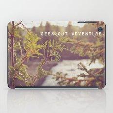 seek out adventure. iPad Case