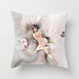 Souris pan Throw Pillow