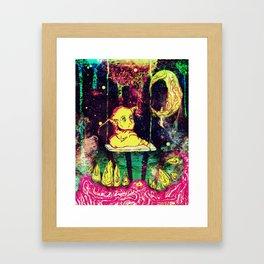 Lacuna Contemplation Framed Art Print