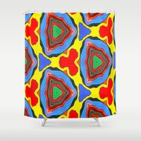 trippy Shower Curtains featuring Trippy by Erin Brekke Conn
