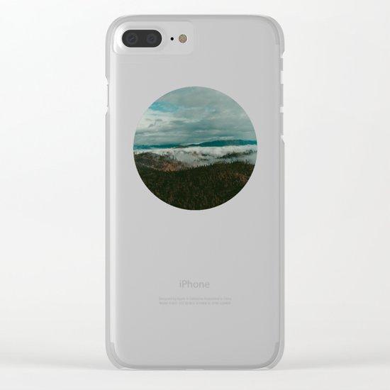 Autumn Wilderness Clear iPhone Case