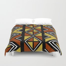 Big mud cloth tiles Duvet Cover