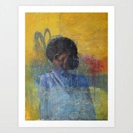 Swazi Art 4 Art Print