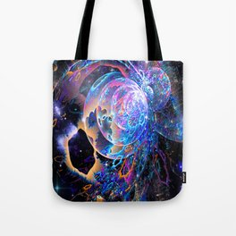 Transitory Cosmos Tote Bag