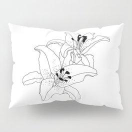 Stargazer Lilies Pillow Sham