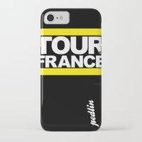 tour de france iPhone & iPod Cases featuring Tour de France by Pedlin
