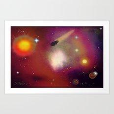 Cosmos - 005Z Art Print