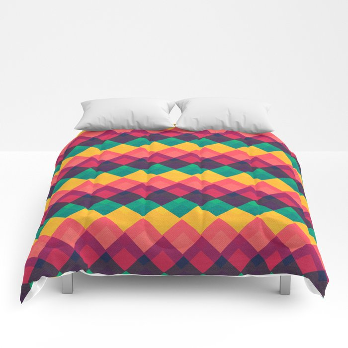 Happy Day Pattern Comforters