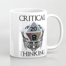 Critical Thinking Coffee Mug