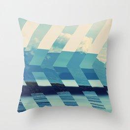 Lakeside Drive Throw Pillow