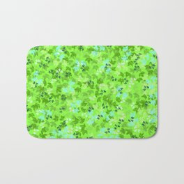 Pattern floral bloom Bath Mat