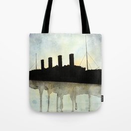 Titanic watercolour Tote Bag