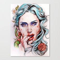A Taste So Sweet Canvas Print