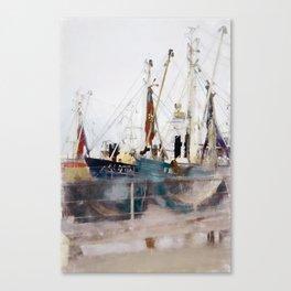 Fishermens friend Canvas Print