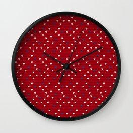 Pattern in Grandma Style #69 Wall Clock