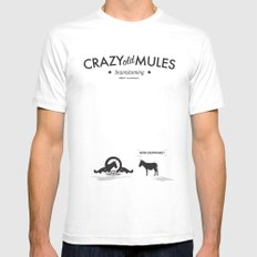 Crazy old Mule / Metro Goldwyn Mule Mens Fitted Tee White MEDIUM