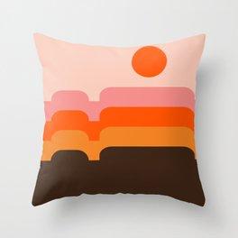 Honey Hills Throw Pillow