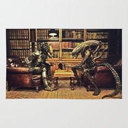 Alien V Predator Rug