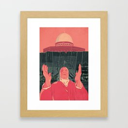 The Other Side of the Wall Framed Art Print